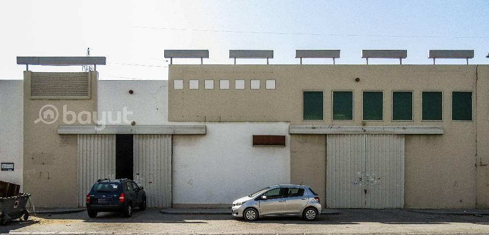 Dhs. 16/- per Sqft  Warehouse in IND Area NO. 18 Behind Economic Department with 1 month free