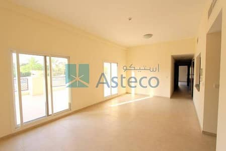 3 Bedroom Apartment for Rent in Remraam, Dubai - 3 BHK Ground Floor In al Thamam Inner Circle For Rent.