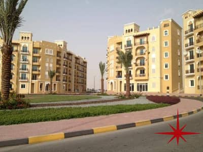 LARGE STUDIO WITH BALCONY IN EMIRATES CLUSTER BUILDING , INT'L CITY !!!