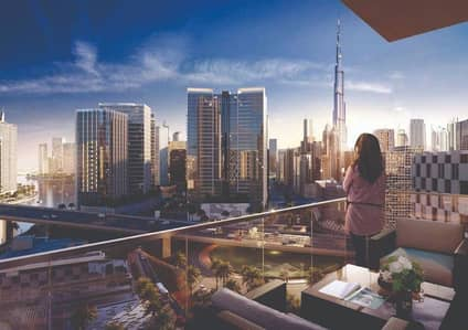 Pay only 5% now - view on canal Dubai - burj khalifa