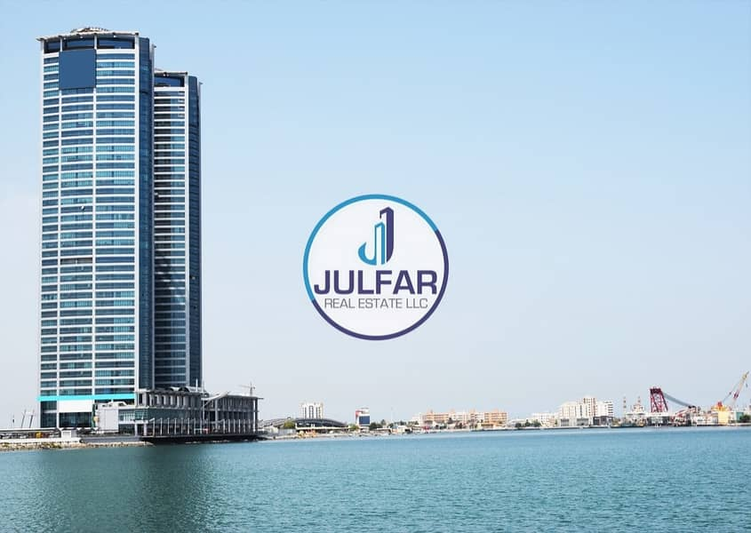 Unfurnished Sea View 1 BHK Apartment in Julphar Tower
