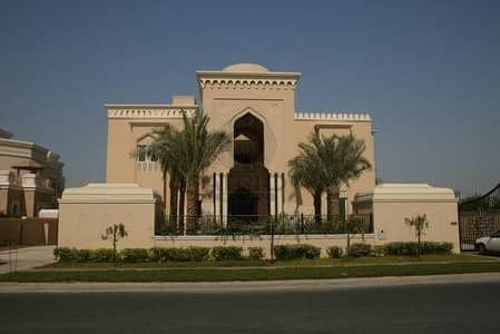 HUGE AMAZING 3 SIDE LAKE VIEW VILLA FOR SALE IN EMIRATES HILLS