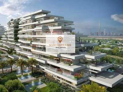 4 years pp. Oasis in the city. Luxury spacious apartments. Move in September 2018. Unique greenery project in  Dubai.