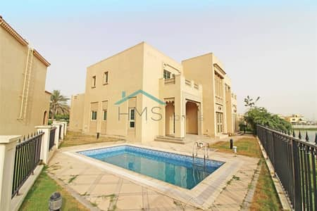 4 Bedroom Villa for Rent in Jumeirah Islands, Dubai - Entertainment Foyer - Oasis Cluster - Available Now