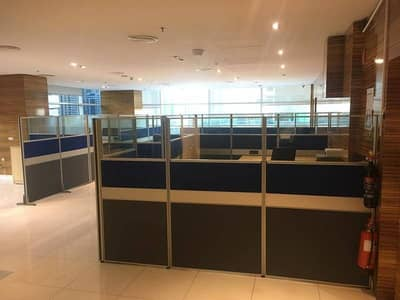 Spacious Furnished Office in Al Reef in JLT for Rent