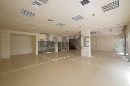 Showroom for Rent in Al Wasl, Dubai - Showroom with Mezzanine Floor on Sheikh Zayed Road