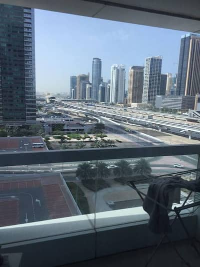 Spacious furnished unit with balcony in Saba Tower