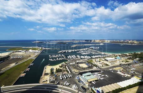 4 payments / Full Sea View/ Cayan Tower 2br  hall