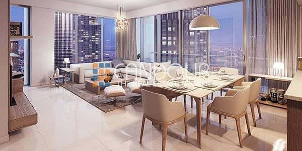 1 Bedroom Apartment for Sale in Downtown Dubai, Dubai - Forte 2 | Great Investment | Opposite Opera House 1 Bedroom