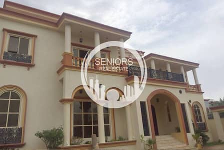 6 Bedroom Villa for Sale in Abu Dhabi Gate City (Officers City), Abu Dhabi - Huge 6Bedroom villa w/ Extension outside