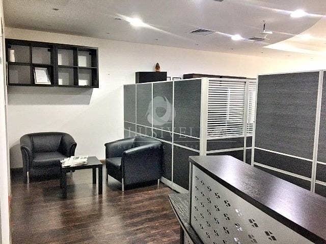 Furnished Office Near Metro Facing SZR