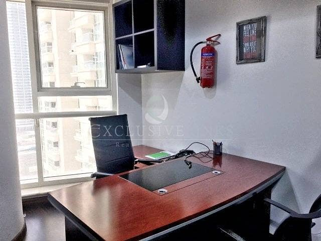 2 Furnished Office Near Metro Facing SZR