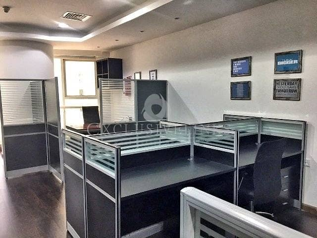 3 Furnished Office Near Metro Facing SZR