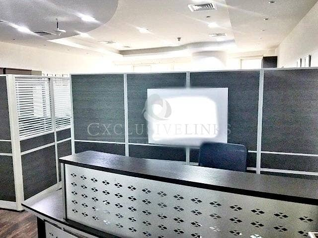 4 Furnished Office Near Metro Facing SZR