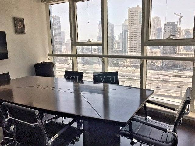5 Furnished Office Near Metro Facing SZR