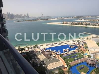 Furnished 1 BR Sea views higher floor Oceana Palm