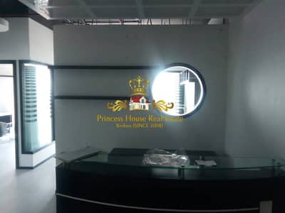 Semi Furnished Fitted Office With Partition For Sale In Business Bay
