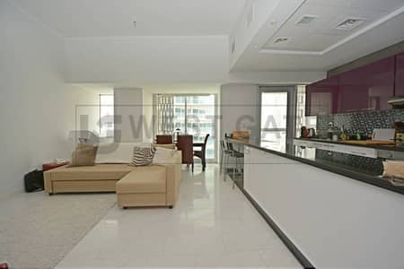 Marina view 2 BR | Unfurnished |Cayan Tower