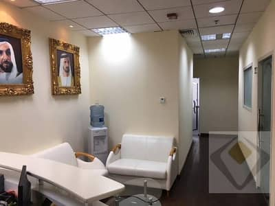 Fully Furnished Office at Oud Metha for 30K