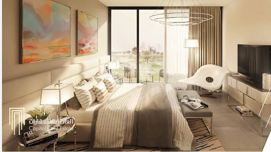 1 Bedroom Apartment for Sale in Akoya Oxygen, Dubai - Golf vita apartments in damac hills with a unique view on the golf course in the best compound in dubai right now with t