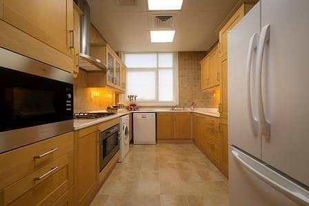 فلیٹ 2 غرفة نوم للايجار في شارع النجدة، أبوظبي - Kitchen