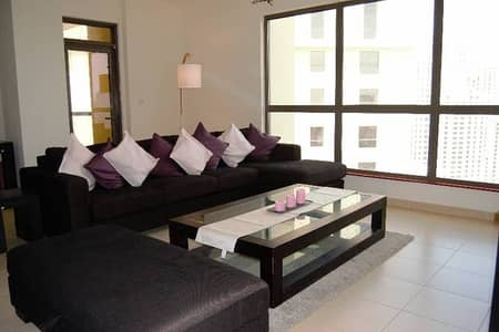 JBR Amwaj 4- Great view- Sea view and Marina - 2 BR Furnished for Rent