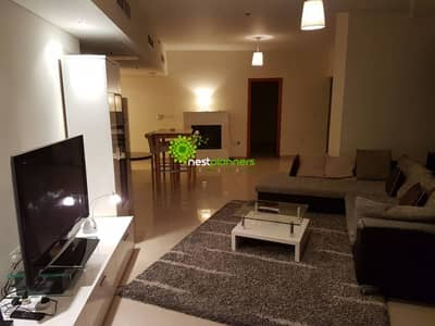 No security deposit ! No commission ! 1 month free !  Huge 2 bed in Difc Damac Park Tower