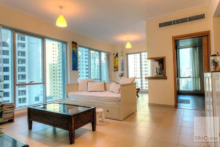 Furnished 1 Bed | Spacious | Partial Sea View