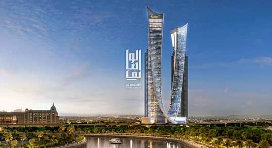 First residential unit overlooking Dubai canal.
