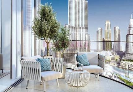 2 Bedroom Flat for Sale in Downtown Dubai, Dubai - Full Fountain and Burj Khalifa View|2BR