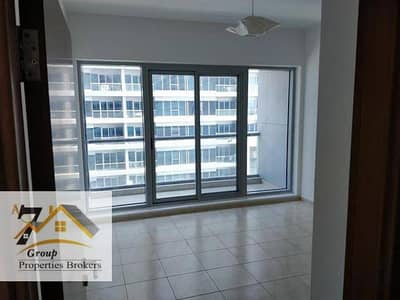 1bed room with balcony available for rent in Skycourts Call (Tariq)