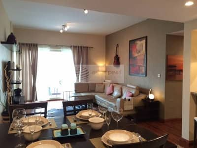 Fully Furnished 1 BR with Stunning Pool View