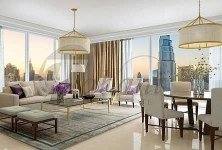 2 Bedroom Apartment for Sale in Downtown Dubai, Dubai - Front facing