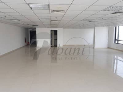 Office for Rent in Jumeirah Village Circle (JVC), Dubai - Main  road  view  facing  office  in  JVC