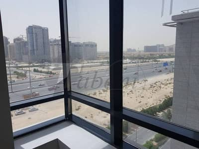 Office for Rent in Jumeirah Village Circle (JVC), Dubai - Ready to move Office for rent in Prime Bus Cntr