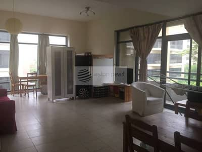 Huge and quite 1BR with Nice Garden View