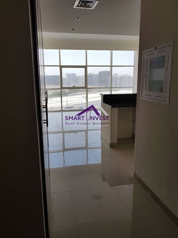 Brand new unfurnished Studio for rent in JVC. Reef Residence for AED 40K/Yr