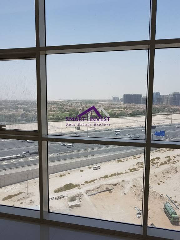 2 Brand new unfurnished Studio for rent in JVC. Reef Residence for AED 40K/Yr