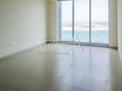 شقة في برج البوابة 3 برج البوابة حي بوابة الشمس جزيرة الريم 2 غرف 1550000 درهم - 3277763