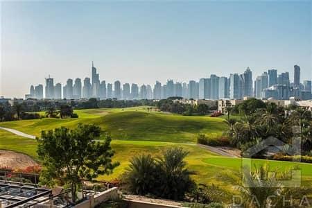 6 Bedroom Villa for Rent in Emirates Hills, Dubai - Luxury villa 6 bed