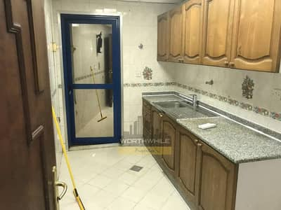 With balcony and 2 baths, A 1 bedroom apartment is for rent only at AD 50K located on TCA