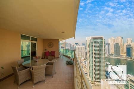 Marina Views   3 Bedrooms   Large Terrace