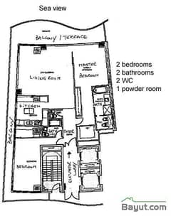 2 Bedroom Type C1