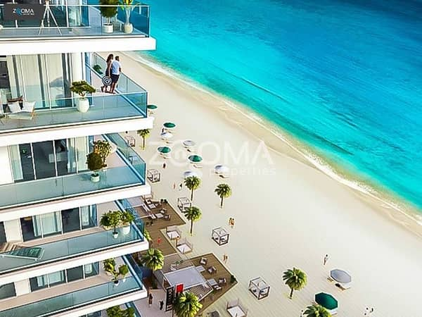 50%On Handover|No Agency Fee|Beach Front