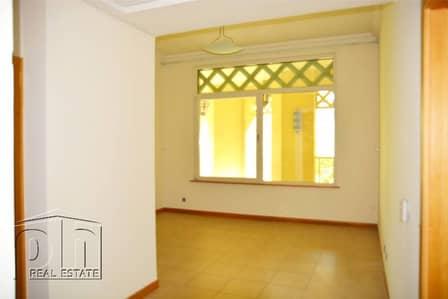 فلیٹ 1 غرفة نوم للايجار في نخلة جميرا، دبي - Unfurnished Ground Floor. 1 Bed. Vacant