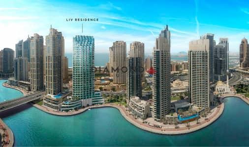 Studio for Sale in Dubai Marina, Dubai - Studio center of Dubai Marina 21% ROI!!!