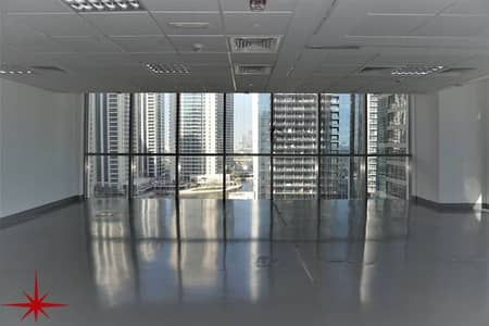 Office for Rent in Jumeirah Lake Towers (JLT), Dubai - Fitted Office with Private Kitchenette