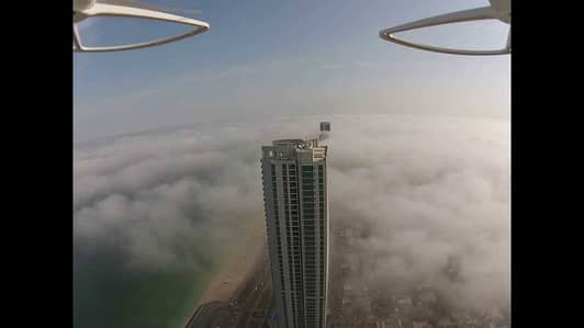 2 Bedroom Flat for Sale in Corniche Ajman, Ajman - Beautiful  Sea view 2BHK in Cornish Tower Available For Sale