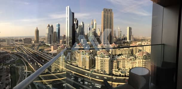 Hotel Apartment for Rent in Downtown Dubai, Dubai - Fully Furnished Serviced-Studio in Downtown. .