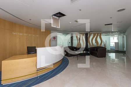 Floor for Rent in Jumeirah Lake Towers (JLT), Dubai - Full Floor Furnished Office | Partitions | JBC 3 Tower